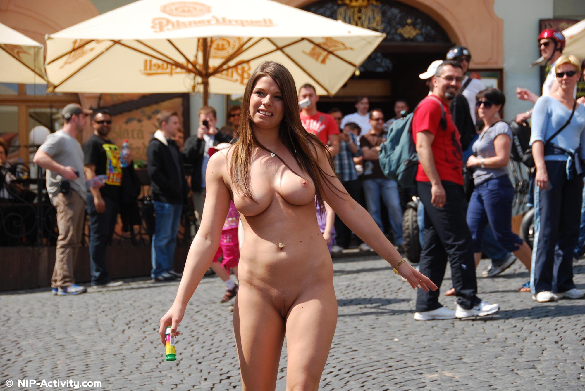 Talk, what Nude in public nip