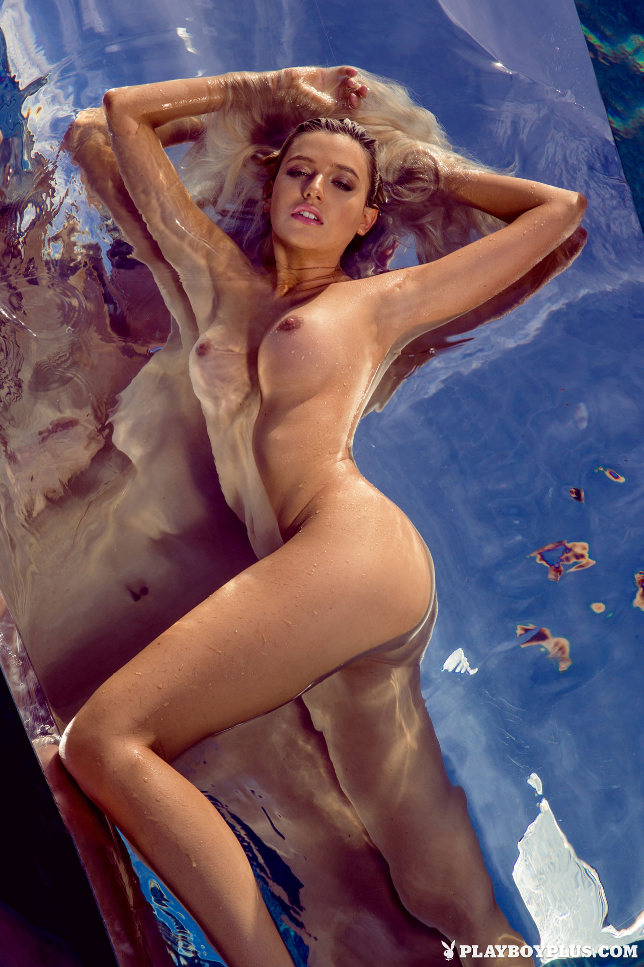 playboy nudes swimming pool