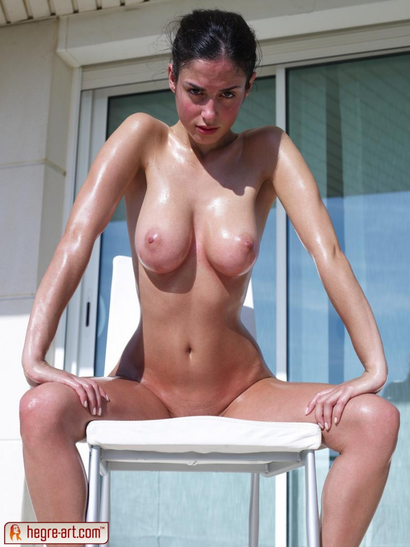 Hot tan naked gf