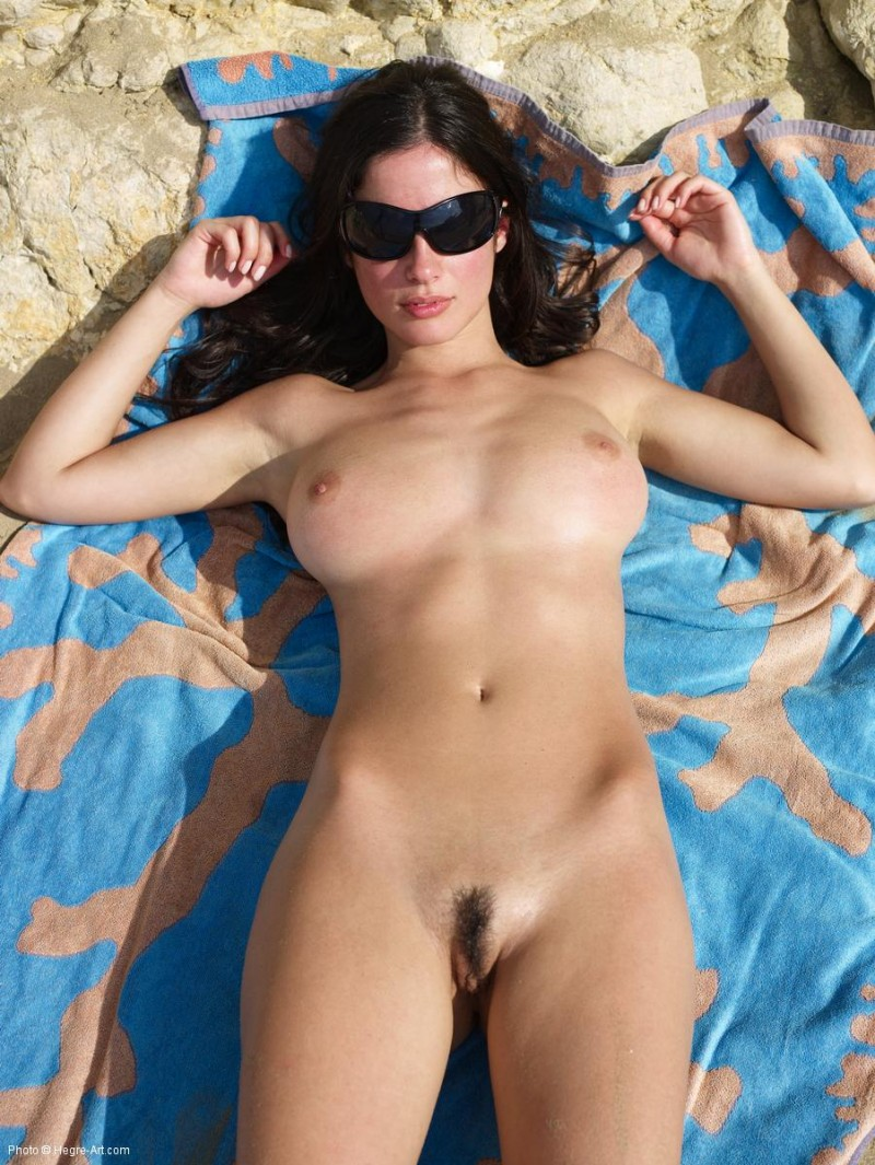 Almost nude women