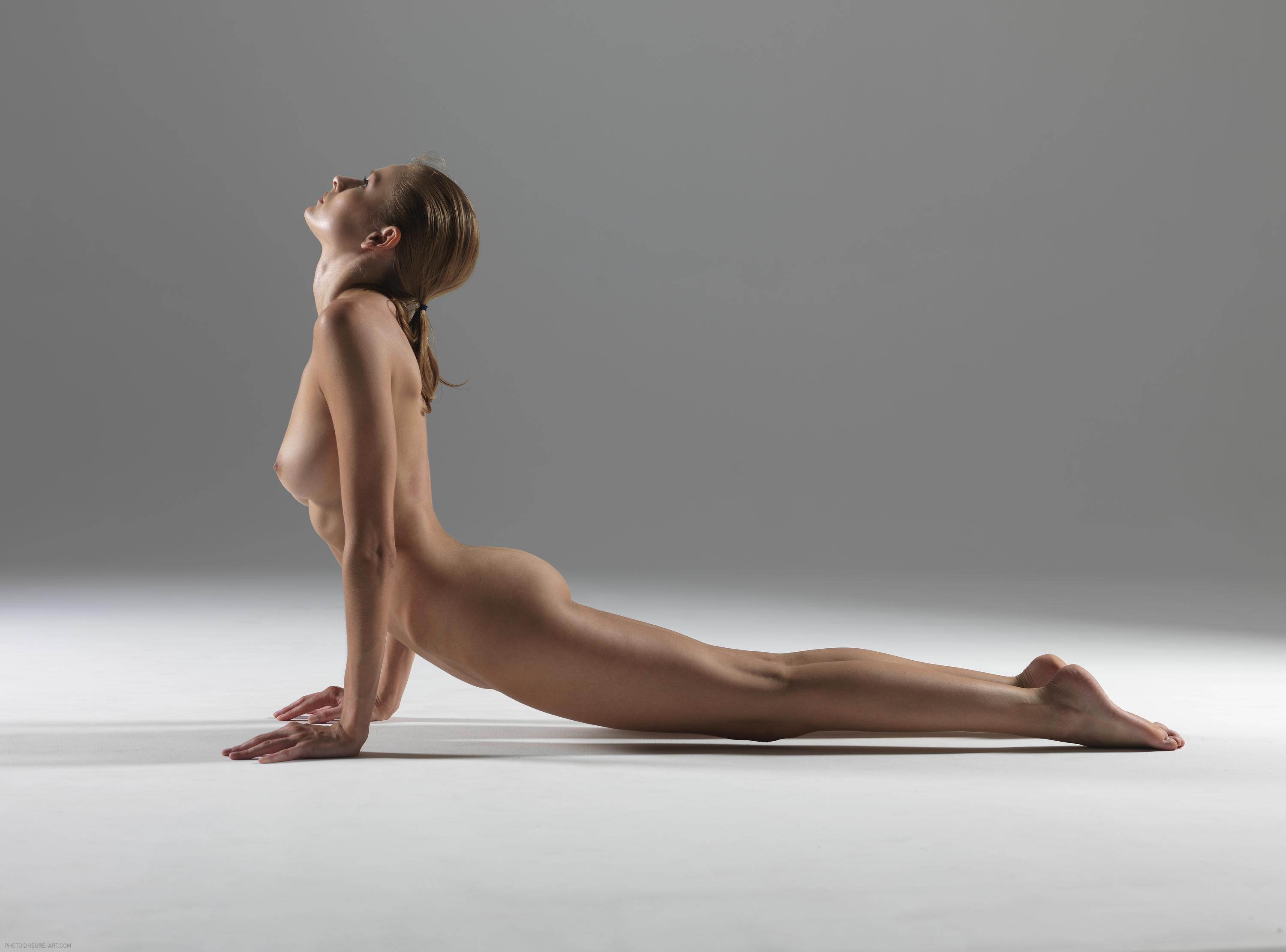 Nude erotic yoga think