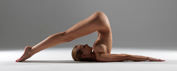 Naked yoga with Luba Shumeyko vol.2