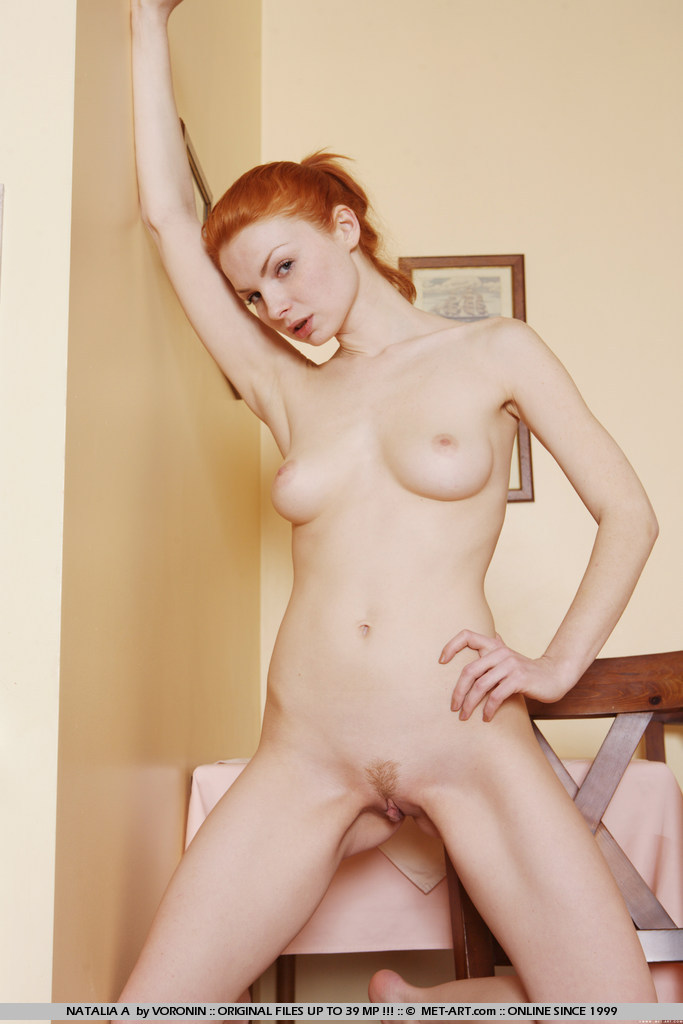 Met art and redhead and nude