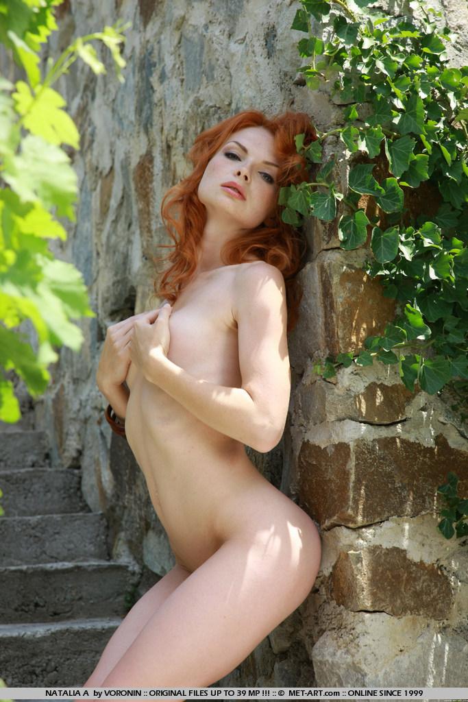 Met art natalia redhead