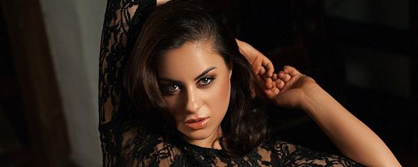 Nikki – Black transparent dress