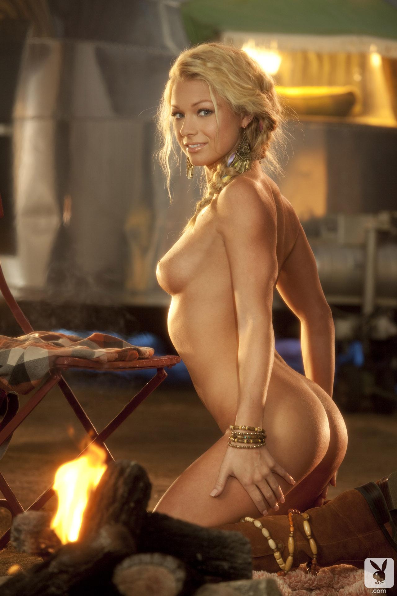 nikki Playboy may playmate leigh