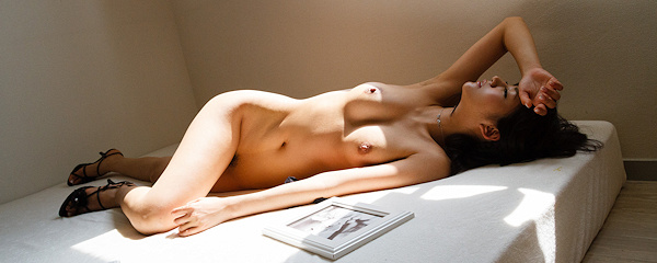 Nozomi Aso – Sexy red nighty