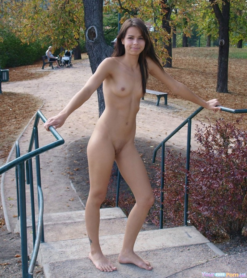Natural breast naked sex