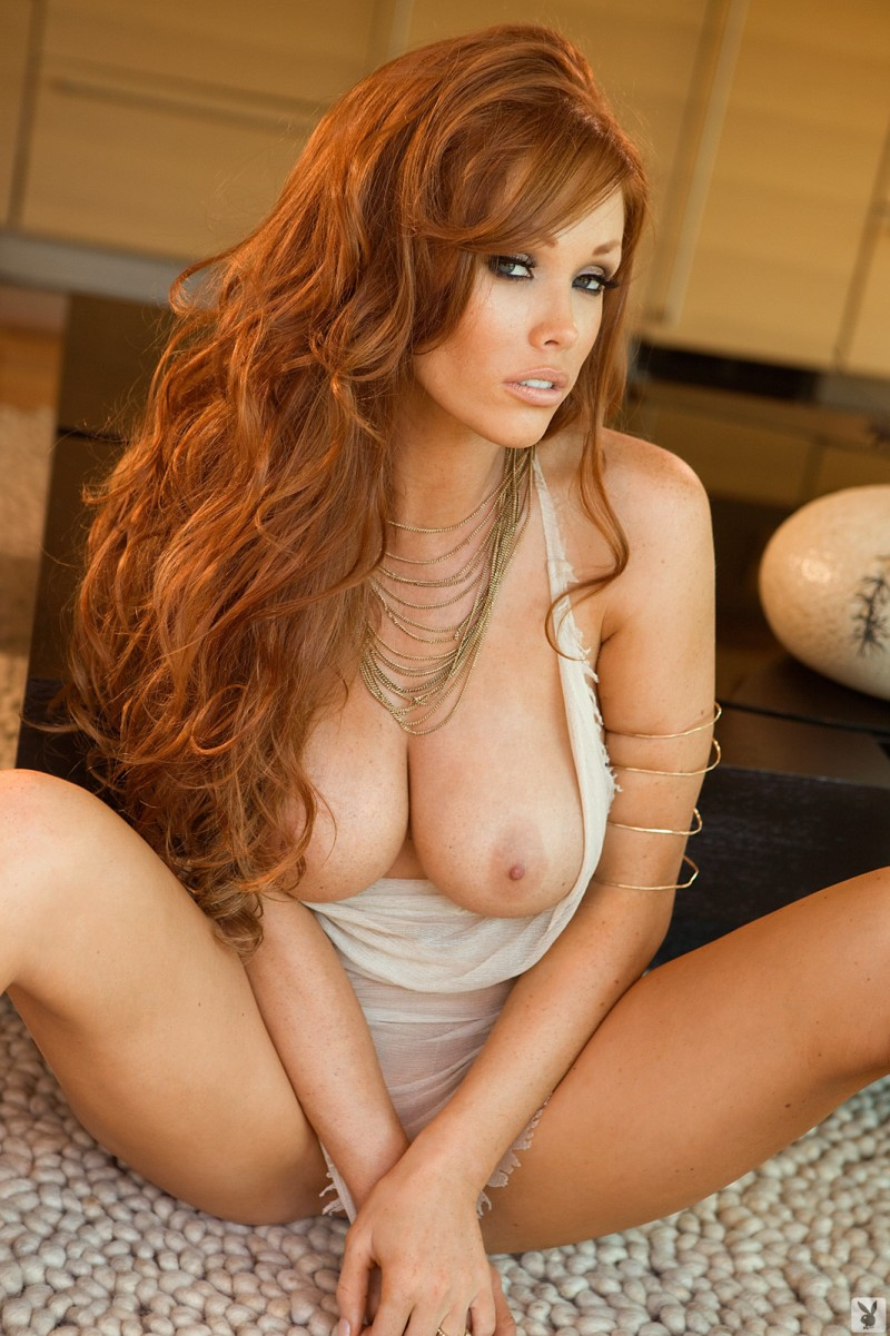 Thanks for Red head playmates nude