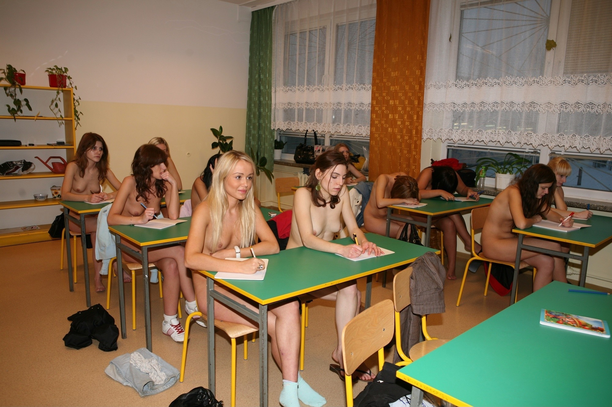 nudist high school lesson the parts of body 05 redbust