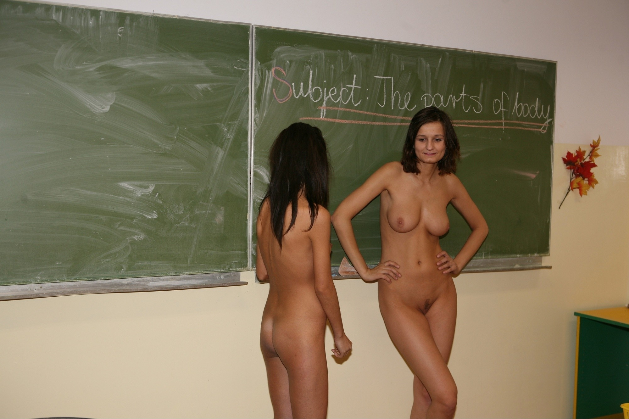 nudist school