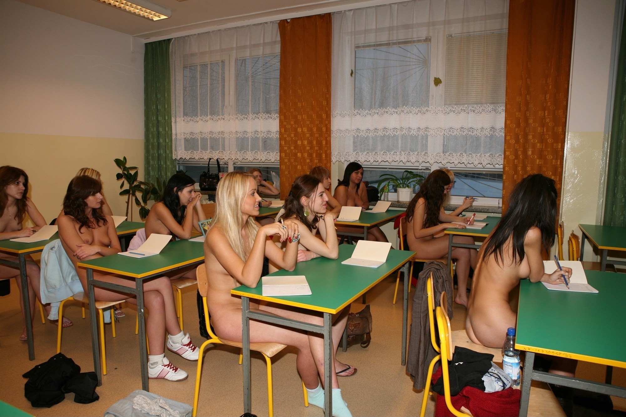 Can Naturism school have