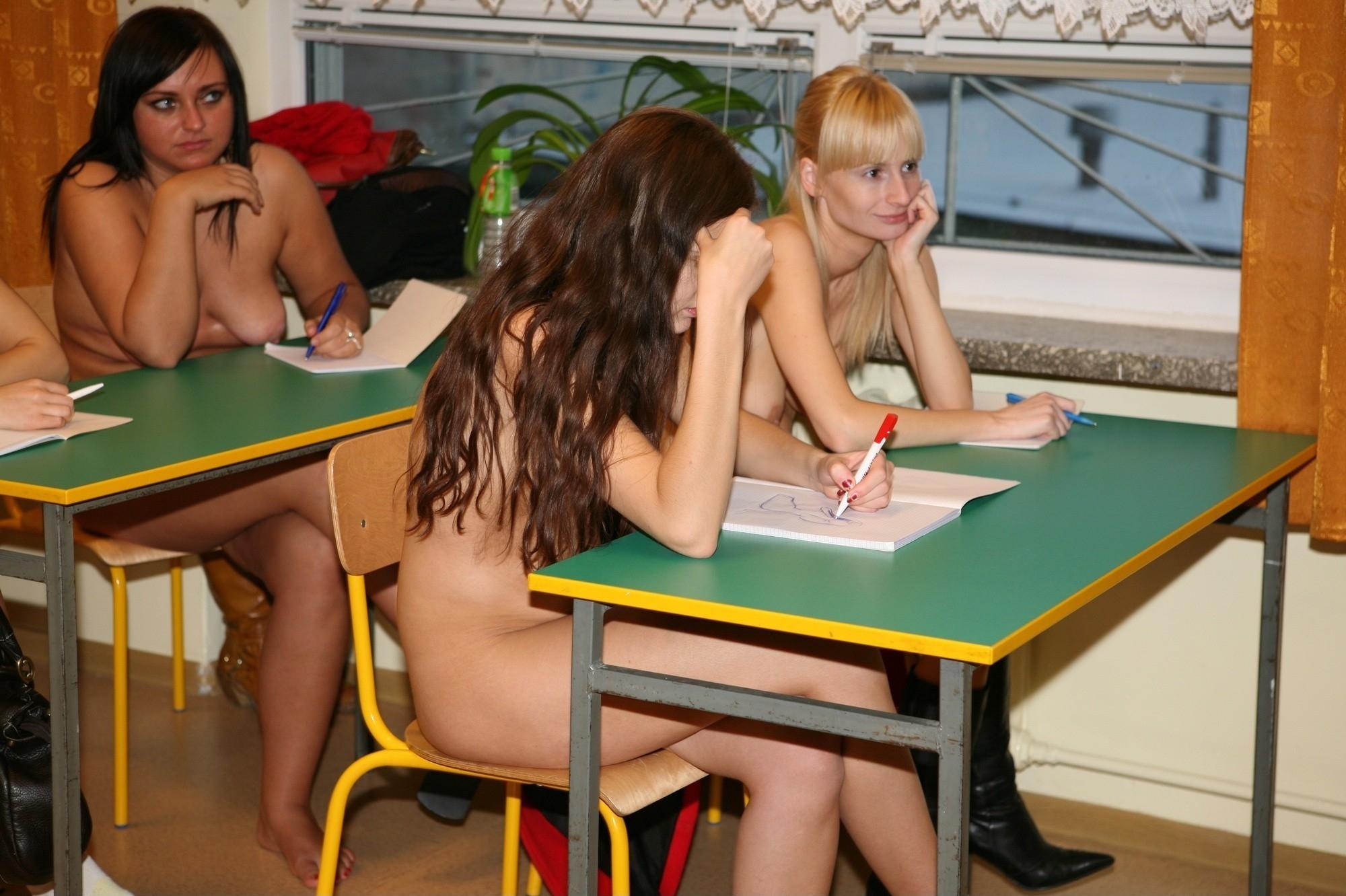 nudist school