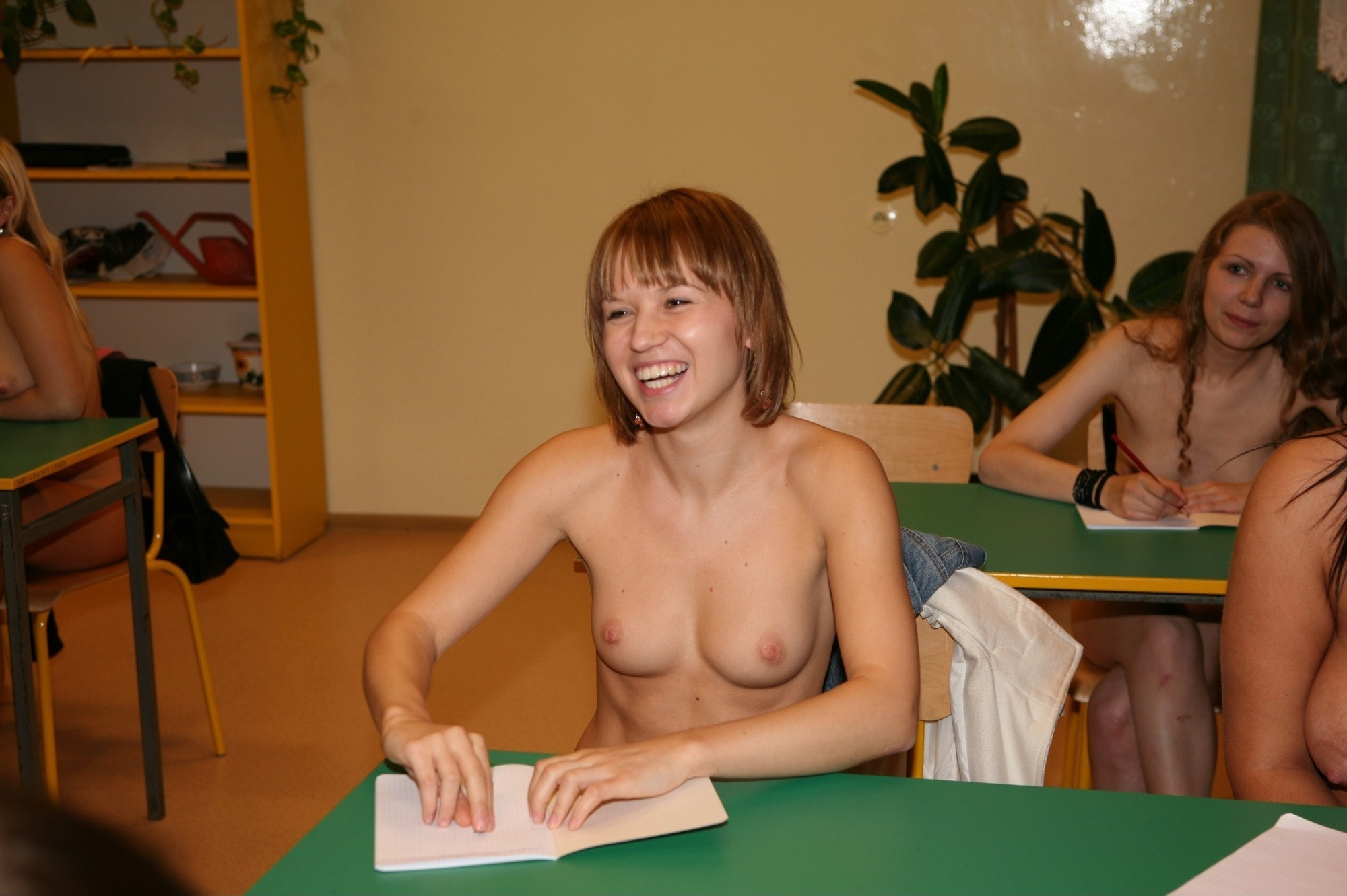 Apologise, but, Nudism middle school topless with