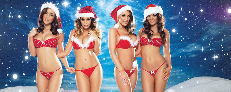 Nuts Xmas 2012 Special – Lucy, India, Rosie & Holly