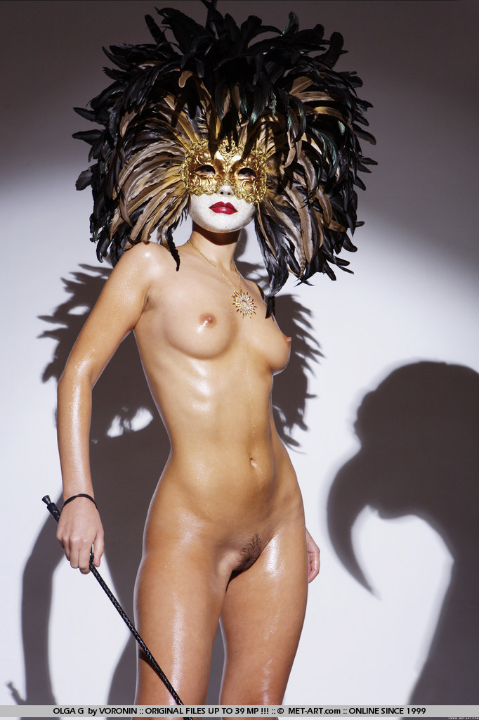 Necessary words... Sexy naked women masks