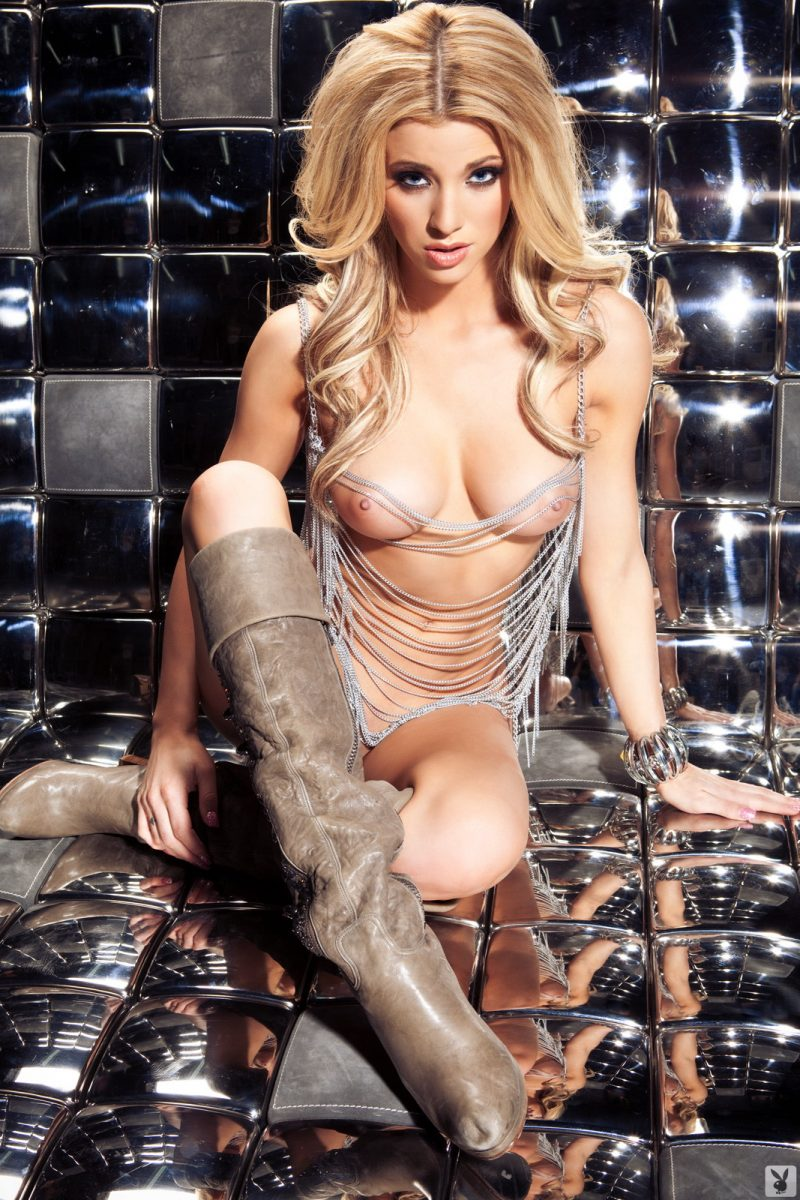 olivia-paige-chain-dress-nude-playboy-12