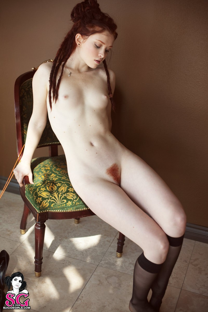 Pale beauty ass girl suicide with glasses confirm