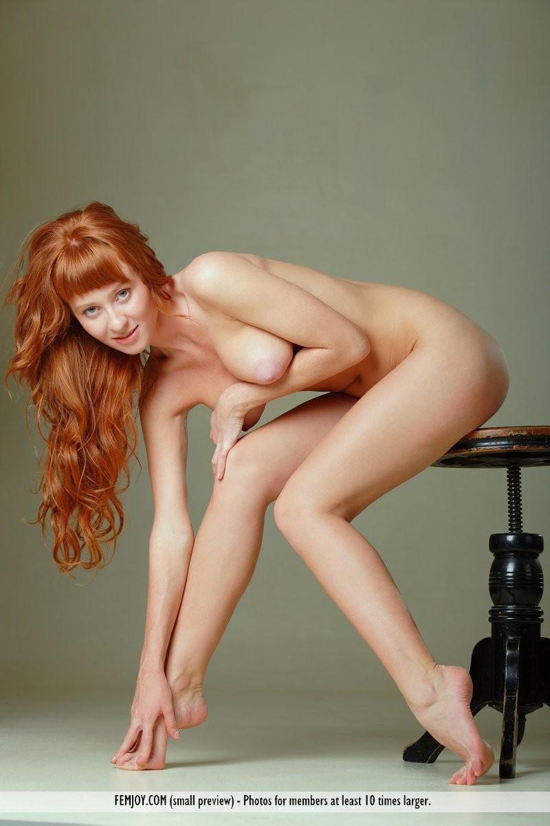 ossana-nude-redhead-swivel-stool-femjoy-11