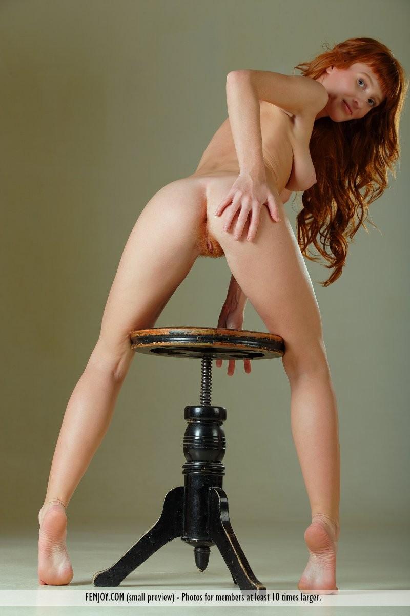 ossana-nude-redhead-swivel-stool-femjoy-13