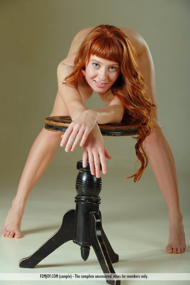 ossana-nude-redhead-swivel-stool-femjoy-16
