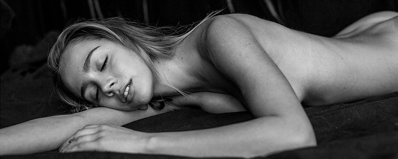 Paige Jimenez – Black & white photos by Philippe Regard