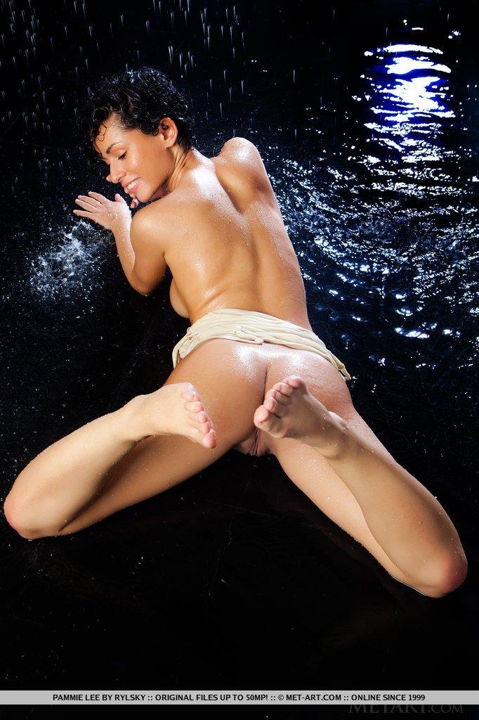 pammie-lee-wet-nude-brunette-metart-14