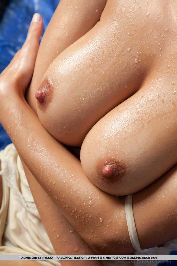 pammie-lee-wet-nude-brunette-metart-17