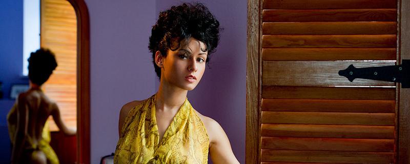 Pammie Lee – Yellow gauzy dress