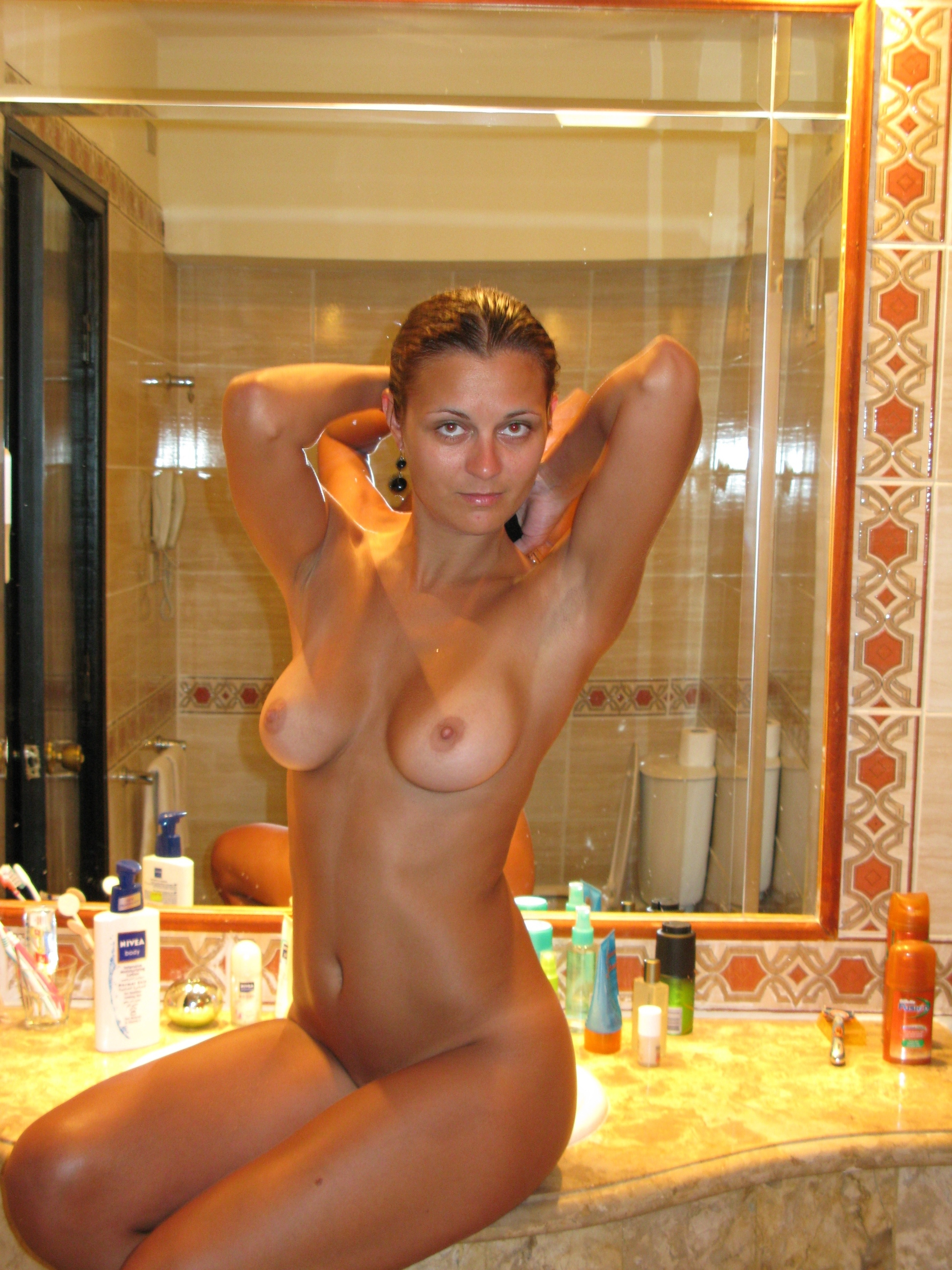 Nude girl with perfect body your idea