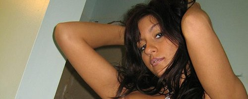 Raven Riley in jeans