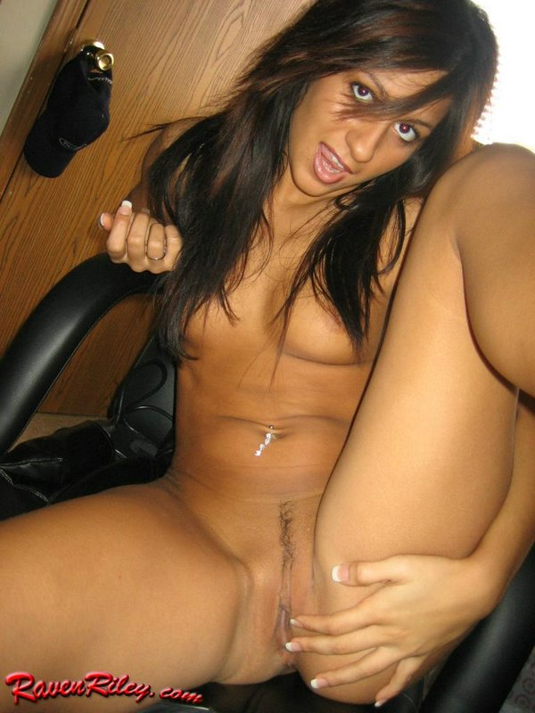 raven riley sits on dick