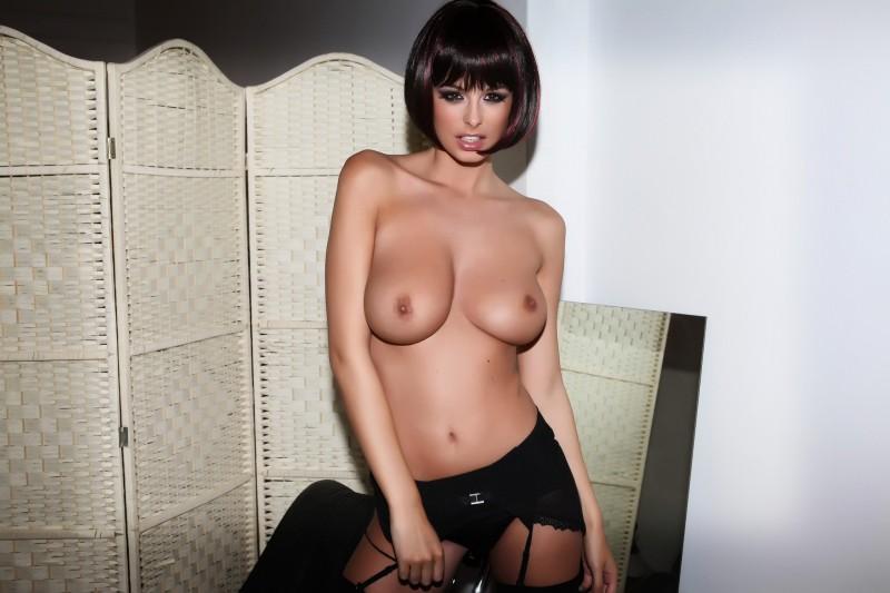 rhian-sugden-stockings-high-heels-topless-11