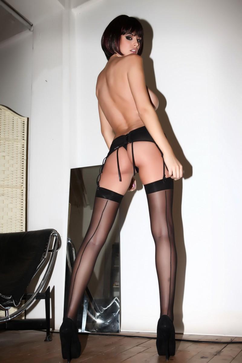 rhian-sugden-stockings-high-heels-topless-16