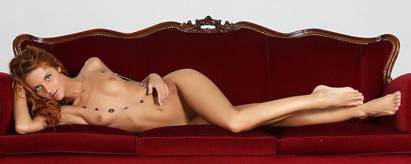 Roberta Berti in lingerie