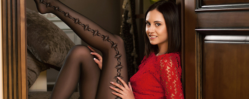 Sade Mare in pantyhose