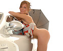 samantha-mercedes-garage-ftvgirls