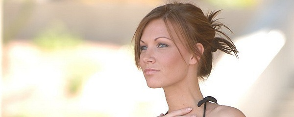 Samantha – Flash in public