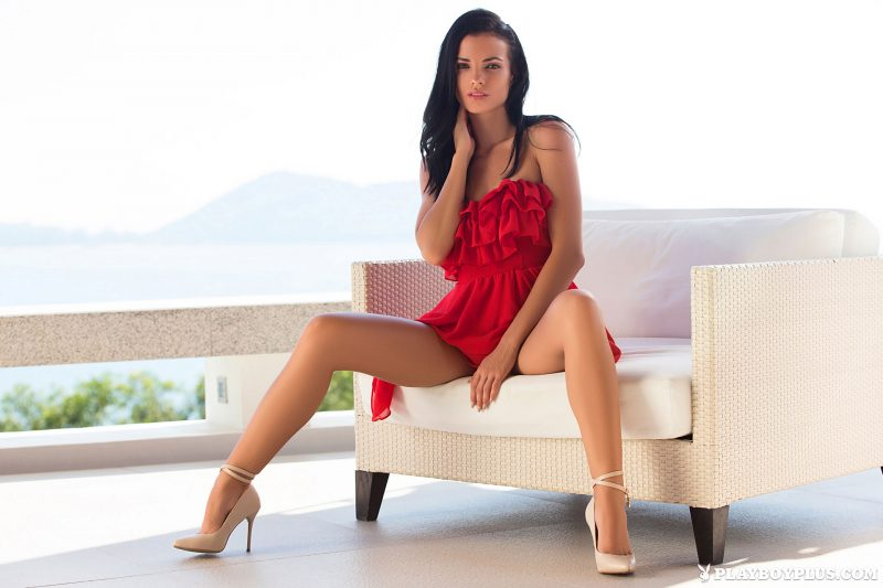 sapphira-nude-brunette-red-dress-playboy-02