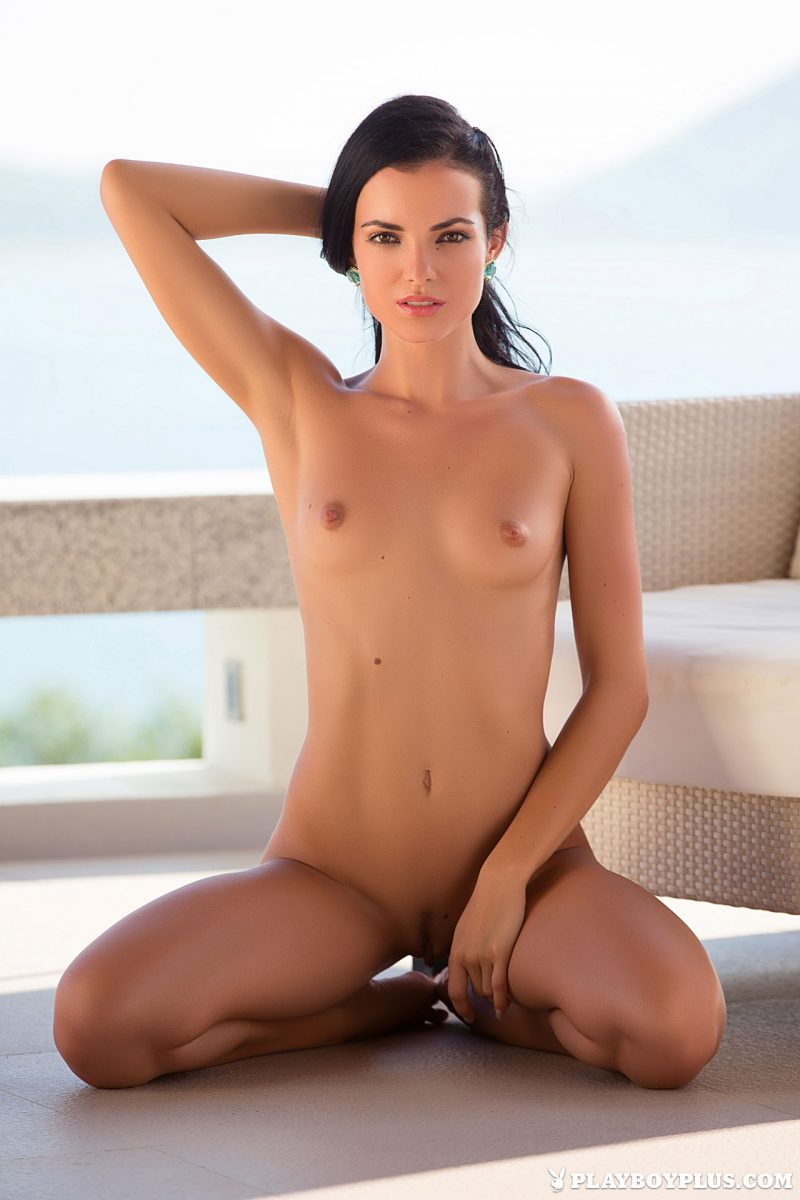 sapphira-nude-brunette-red-dress-playboy-15