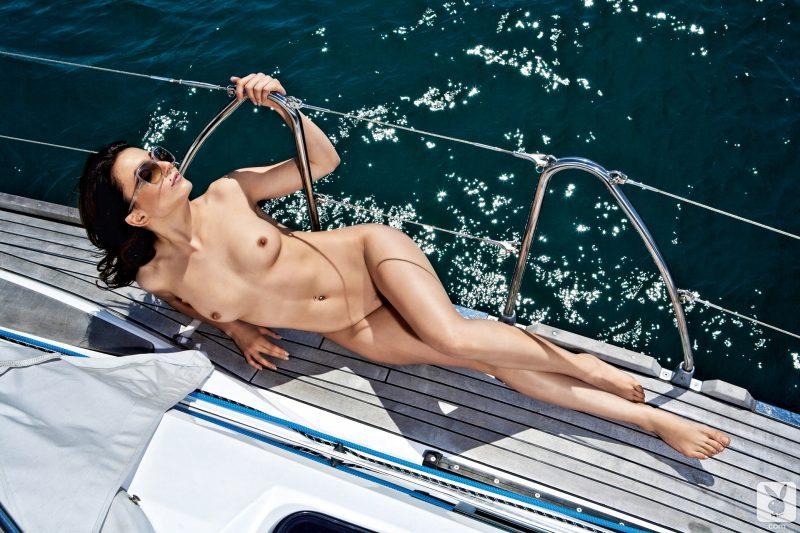 sara-mercnik-yacht-nude-slovenia-playboy-13