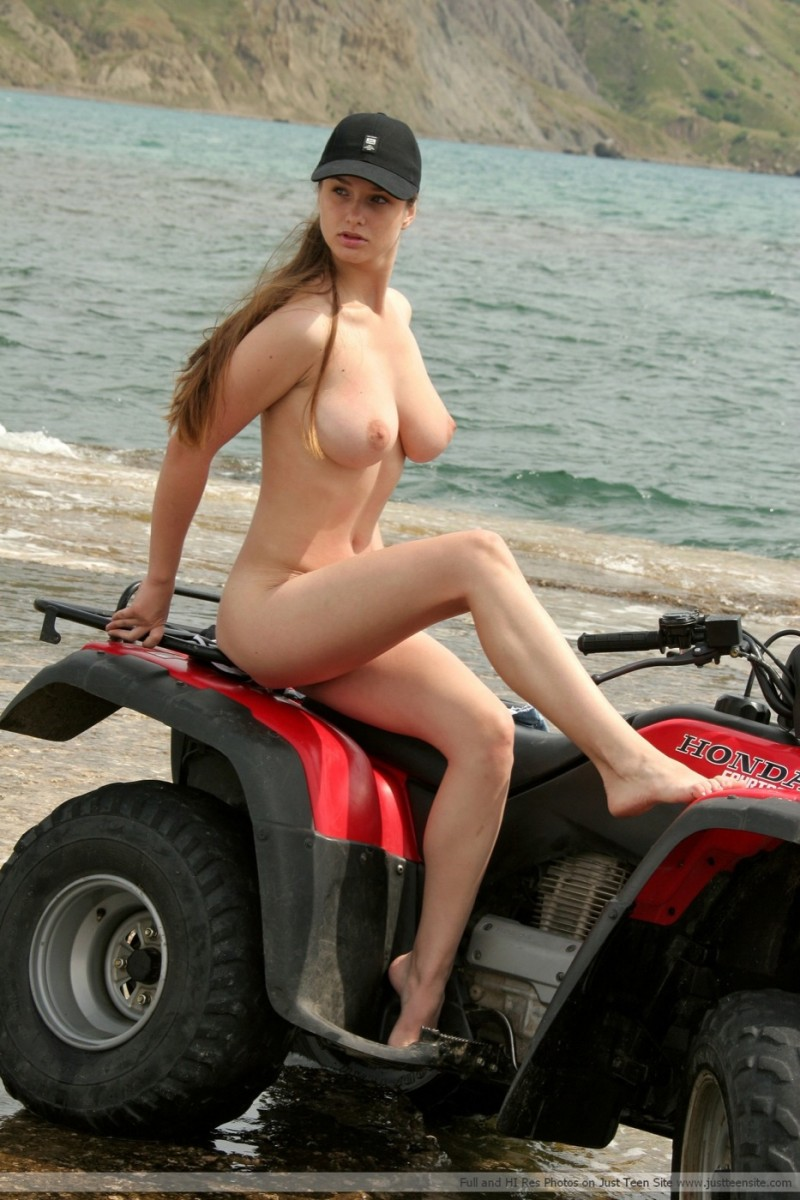 naked boobs and atvs
