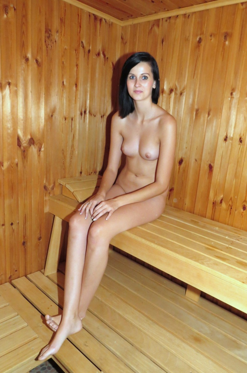 Share Nude group sauna girl