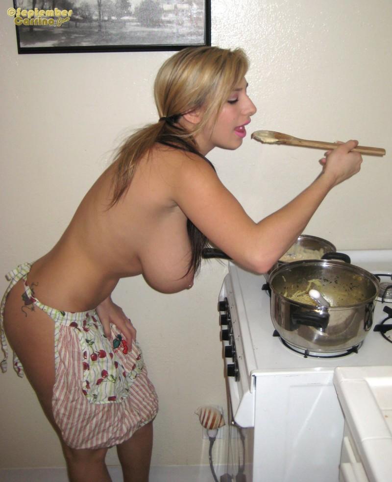Girl dinner nude Erotic