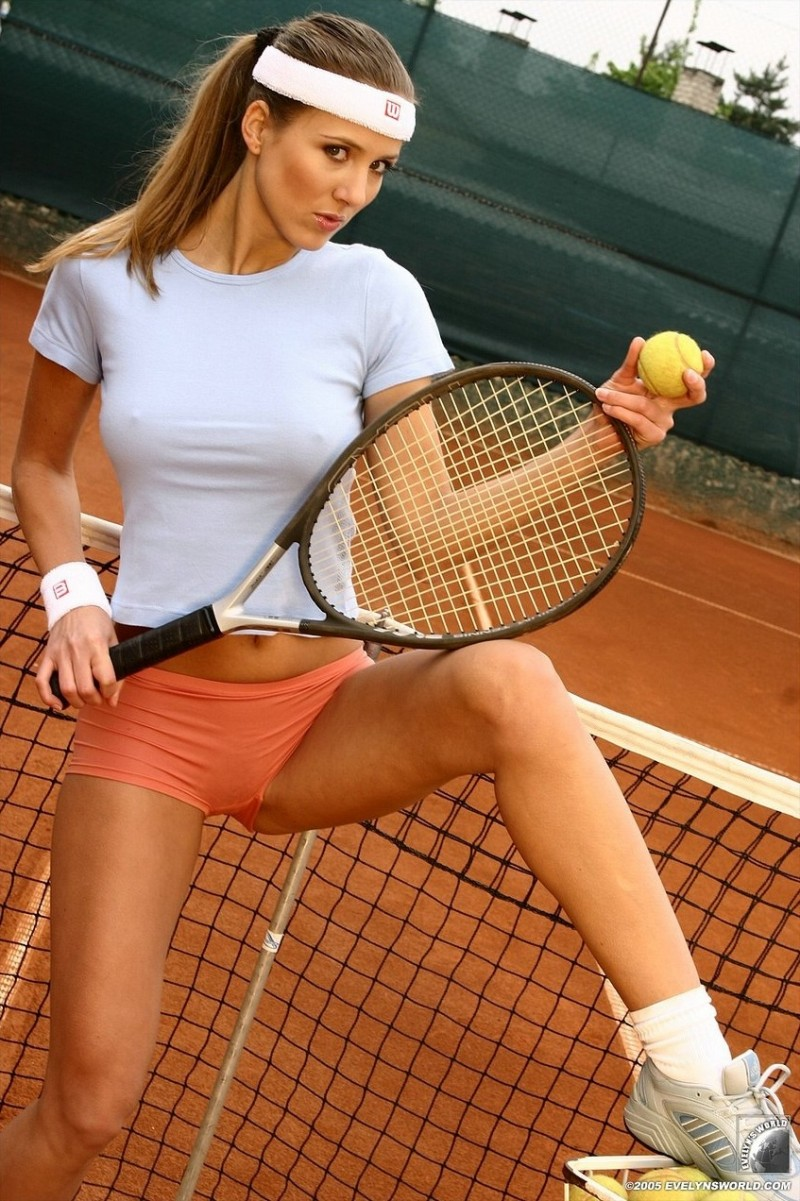 Tennis nude hot girl
