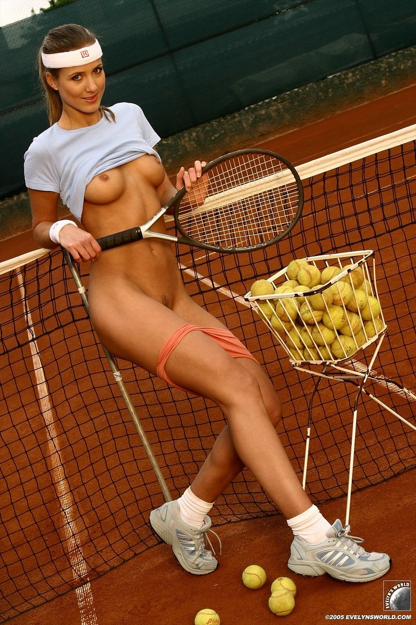 Excellent Tennis hot chicks nude for