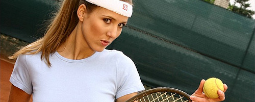 Sexy tennis player vol.3