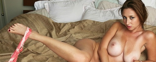 Shay Laren in bedroom