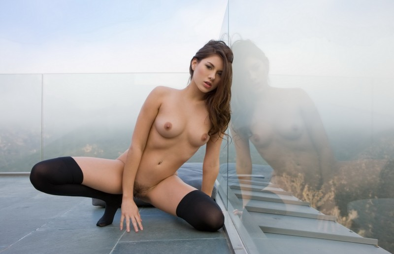 shyla-jennings-roof-balcony-stockings-nude-19