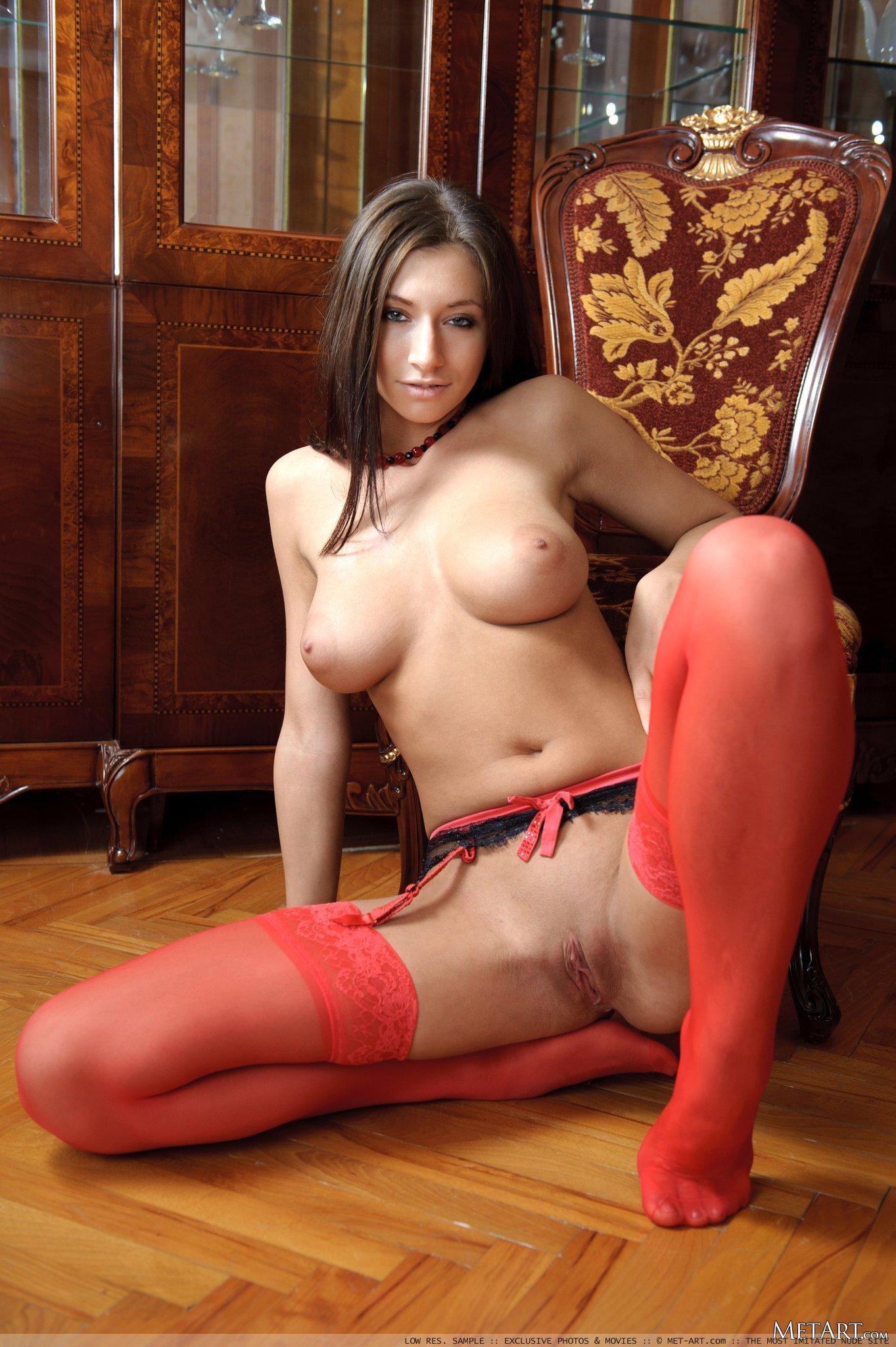 metart stockings simone-b-red-stockings-met-art-14
